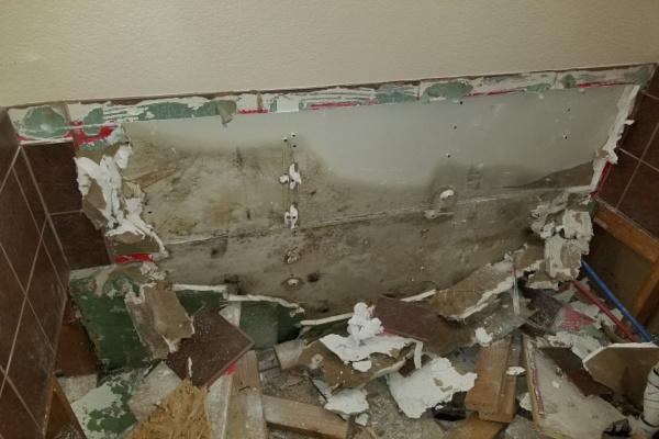 Water Damage Restoration - Standing in Water - Phoenix AZ - Arizona Total Home Restoration 600x400