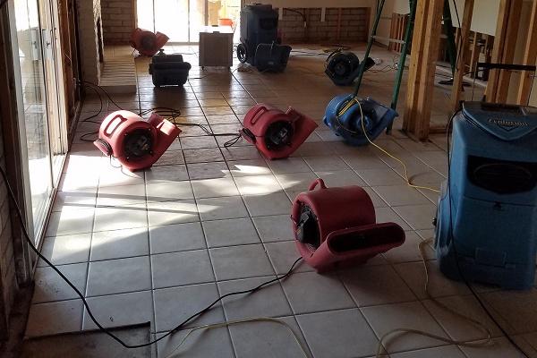 Water Damage Restoration - Mesa, AZ - Demolition and Dryout - AZ Total Home 600x400